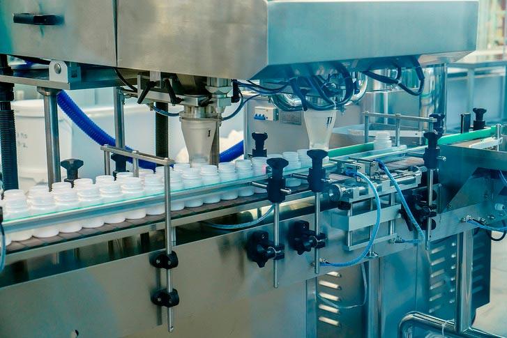 Конвейерная линия для фасовки готовой продукции